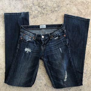 Aeropostale Chelsea Bootcut Dark Denim Jeans